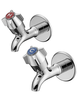 Nimbus Chrome Bib Taps - S7205AA