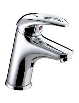 Java Basin Mixer Tap With Clicker Waste - J EBAS C