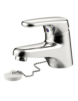 Sandringham SL Basin Mixer Tap With Weighted Chain