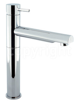 Related Crosswater Kai Lever Monobloc Swivel Spout Tall Basin Mixer Tap