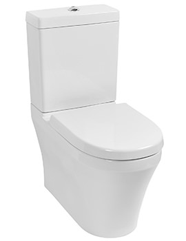 Delight BTW Close Coupled Pan And Cistern With Soft Close Seat