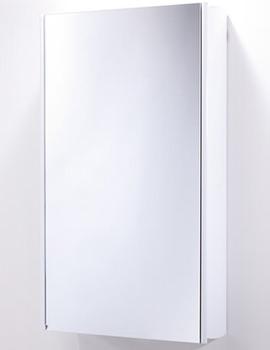 Ascension Limit Slimline 1 Door Bathroom Cabinet White 450mm - AS415W