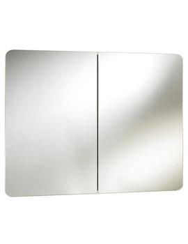 Brandon Double Door Mirrored Cabinet 800 x 600 x 120mm