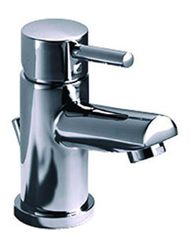 Related Roper Rhodes Storm Mini Basin Mixer Tap With Click Waste - T226002