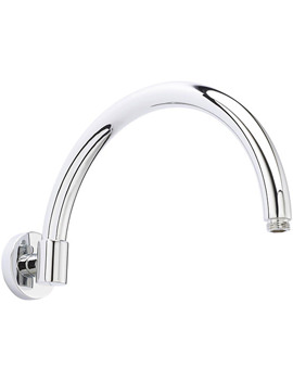 Curved Wall Mounted Shower Arm