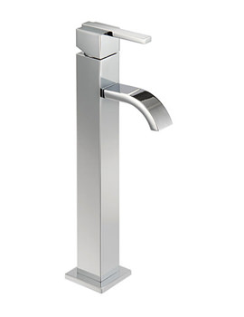 Ice Fall Lever Cloakroom Mono Basin Mixer Tap 283mm - IFL069