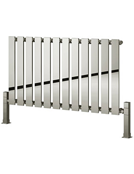 Related Reina Pienza Designer Radiator 825 x 550mm Chrome - RND-PNZ825