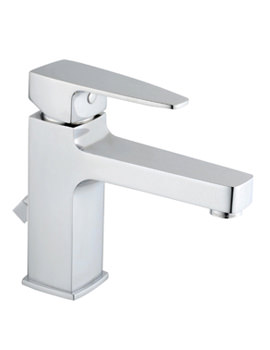 Q-Line Basin Mixer Tap Chrome Without Waste - A40775VUK