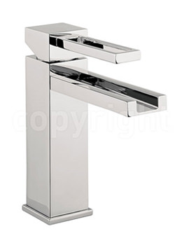Related Crosswater Zest Monobloc Basin Mixer Tap - ZT110DNC