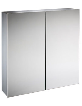 Balance 600mm Double Door Mirror Cabinet - BA60AL