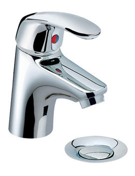 Related Heritage Caprieze 1 Taphole Mini Basin Mixer Tap With Pop-Up Waste