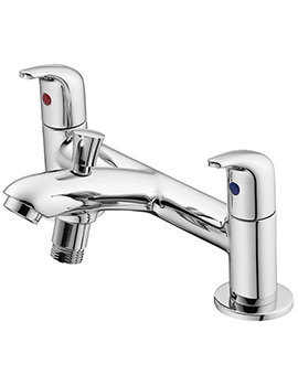 Opus Chrome 2 Hole Bath Shower Mixer Tap - B0294AA