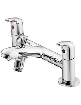 Opus Chrome 2 Hole Bath Shower Mixer Tap - B0294AA