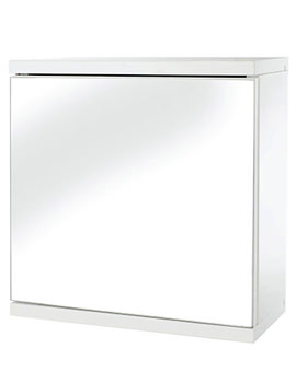 Simplicity Self Assembly One Door Mirror Cabinet - WC257122