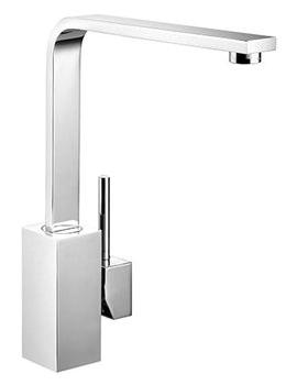 Quadrant Single Lever Kitchen Sink Mixer Tap Chrome - TQSL1CM