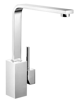 Related Rangemaster Quadrant Single Lever Kitchen Sink Mixer Tap Chrome - TQSL1CM