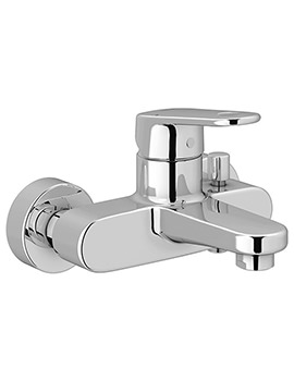 Europlus Single Lever Chrome Bath Shower Mixer Tap - 33553002