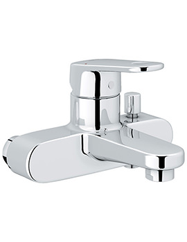 Europlus Single Lever Bath Shower Mixer Tap Chrome - 32625002