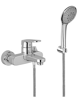 Europlus Bath Shower Mixer Tap With Shower Kit - 33547002