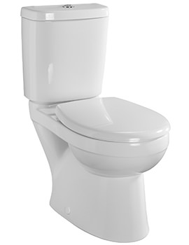 Galerie Plan Close Coupled WC With Cistern And Fittings 680mm