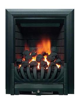 Related Be Modern Avantgarde Traditional Slimline Inset Gas Fire Black - 8087