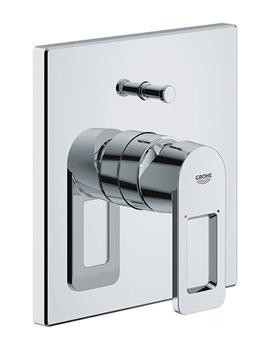 Related Grohe Quadra Single Lever Bath Shower Mixer Trim And Diverter - 19456 000