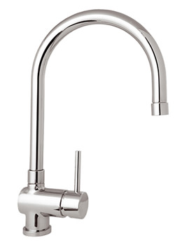 Stick Mono Kitchen Sink Mixer Tap With Pull Out Rinser - STICK104