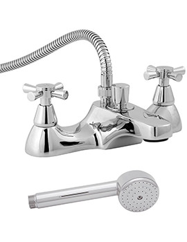 Milan Deck Mounted Bath Shower Mixer Tap - MILAN106