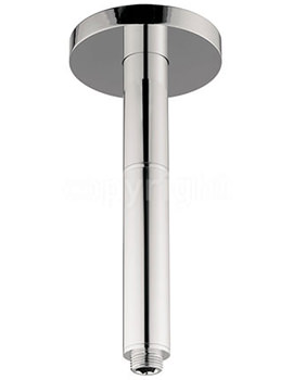 Rex Chrome 200mm Ceiling Mounted Shower Arm - FH685C