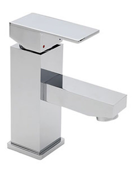 Edge Mini Mono Basin Mixer Tap With Pop Up Waste - 22372