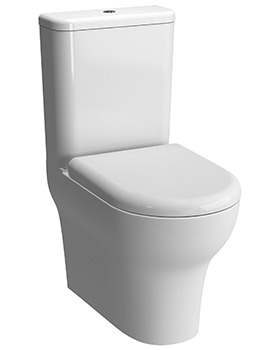 VitrA Zentrum Closed Back Close Coupled WC Pan With Cistern And Seat