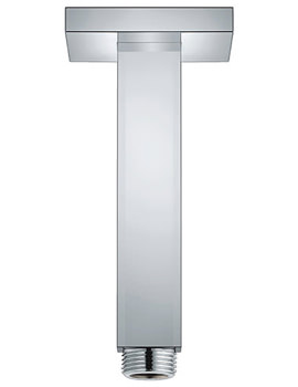 Related Grohe Rainshower Ceiling Shower Arm 154mm - 27711000