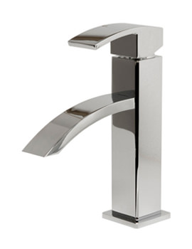 Flat Waterfall Basin Mixer Tap - 1931C
