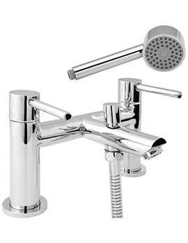 Insignia Bath Shower Mixer Tap With 8 Litre Flow - INS106-HSR8