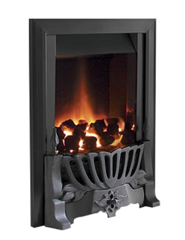 Warwick Manual Control Traditional Gas Fire Black - FIRC26MN
