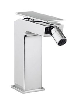 Kelly Hoppen Zero 3 Monobloc Bidet Mixer Tap With Waste