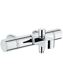 Grohtherm 1000 Cosmopolitan Thermostatic Bath Shower Mixer Tap Chrome