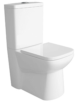 Charm Close Coupled WC With Cistern And Soft Close Seat
