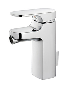 Moment Single Lever Bidet Mixer With Pop-Up Waste
