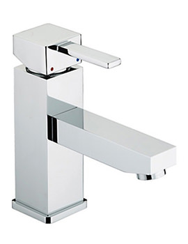 Eco Basin Mixer Tap With Pop Up Waste - QD EBAS C