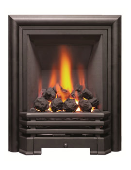 Savannah Slimline Inset Gas Fire Black-Coal - 81078