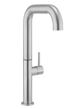 Related Crosswater Cucina Tube Stainless Steel Tall Side Lever Kitchen Mixer Tap