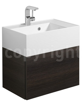 Bauhaus Elite Panga Single Drawer Basin Vanity Unit 500mm