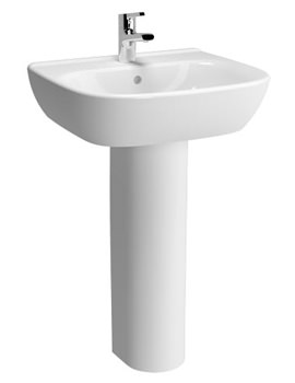 Zentrum 550mm Basin And Full Pedestal