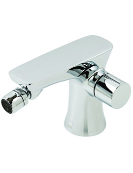 Altitude Mono Bidet Mixer Tap With Pop Up Waste Chrome