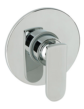 Tre Mercati Coast Concealed Manual Shower Valve Chrome - 40090