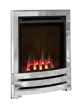 Manual Control Contemporary HE Gas Fire Silver-Coal - FHSCU0MN
