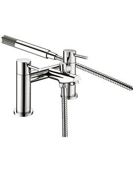 Blitz Bath Shower Mixer Tap Chrome - BTZ BSM C