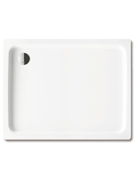 Kaldewei Ambiente Duschplan 800 x 900 x 65mm Steel Shower Tray White