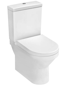 S50 Compact Close Coupled WC Pan With Cistern And Seat